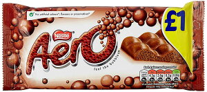 Nestle Aero Mint Flavour Chocolate (ネスレ エアロ ミントチョコレート)  100g x 3pk 【並行輸入品】【海外直送品】