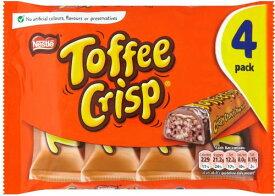Nestle Toffee Crisp (ネスレ トフィー クリスプ) 42g x 8 packs 【並行輸入品】【海外直送品】