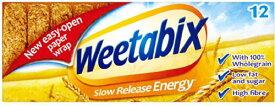 Weetabix Cereal (ウィータビックス シリアル 12枚) 12 biscuits 【並行輸入品】【海外直送品】