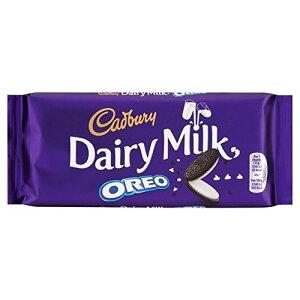 オレオの120グラムとキャドバリー・デイリーミルク (x 2) - Cadbury Dairy Milk with Oreo 120g (Pack of 2) [並行輸入品]