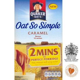 Quaker Oats - Oat So Simple - Caramel - 334g