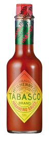 タバスコ ハバネロソース 150ml x 4本 Tabasco Habanero Sauce x 4