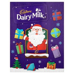 Cadbury Dairy Milk Advent Calendar 90g クリスマス アドベントカレンダー キャドバリー デイリーミルク チョコレート イギリス【英国直送】