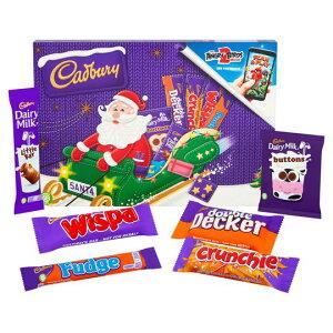 Cadbury Milk Chocolate Santa Selection Box 153G キャドバリー ミルクチョコレート サンタセレクション クリスマスセット イギリス【英国直送】