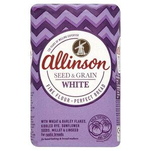 Allinson Seed & Grain Bread Flour (1Kg) アリンソン種子や穀物パン用小麦粉( 1キロ)