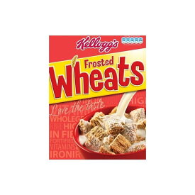 Kellogg's Frosted Wheats (500g) ケロッグ フロスト小麦( 500グラム)
