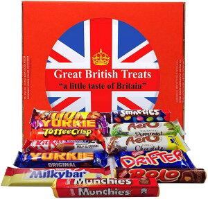 英国 ネスレチョコレート 12種 ギフトボックス British Foods Worldwide Nestl? Gift Box ? 12 British Chocolate Bars: Smarties, Yorkie, Aero, Munchies, Toffee Crisp, Lion Bar, Kit-Kat, Rolo, Milky Bar