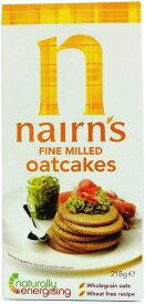 ネアンズ オーツケーキビスケット ファインミル細粒タイプ 218g Nairns - Oatcakes - Fine Milled - 218g 海外直送品
