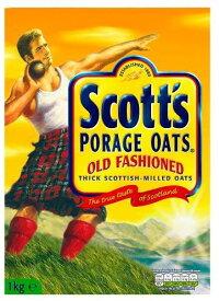 Scott's - Porage Oats - Original - 1Kg