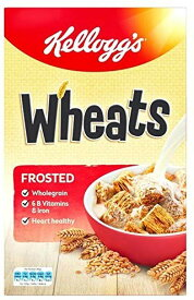 Kelloggs ケロッグ Kelloggs Frosted Wheats 600g (Pack of 4) [並行輸入品]
