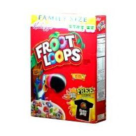 ケロッグ Froot Loops フルーツループ マルチグレイン・シリアル 550g 1箱 [並行輸入品]