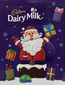 クリスマス アドベントカレンダー デイリーミルク チョコレート Dairy Milk Advent Calendar 90g Cadbury キャドバリー チョコカレンダー