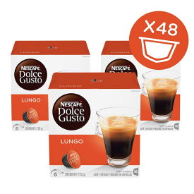 ドルチェグスト カフェルンゴ 16カプセル x 3 Nescafe Dolce Gusto, Caffe Lungo, 16 Count (Pack of 3)