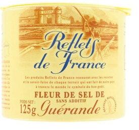 フランス フルードセル 海塩 125g French Fleur De Sel Guerande Reflets De France-Fleur De Sel De Guerande - 4.41 Oz
