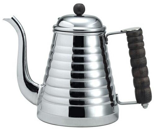 カリタ Kalita ステンレス製 ウェーブポット 1L 【IH電磁調理器対応】 コーヒー ポット 1000ml 1リットル 喫茶店 珈琲 コーヒー コーヒーショップ 店舗