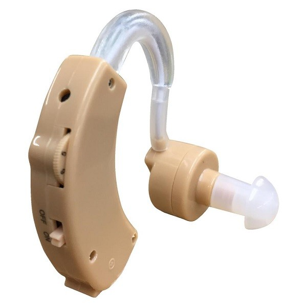 集音器 集音機 イヤーフック型 両耳 対応 音量調節可能 ボリューム 調節 左右両耳 兼用 右耳 左耳 イヤフォンキャップ×3個 収納ケース付き 耳かけ式 耳掛け 軽量 コンパクト 耳 会話 目立たない 自然 会議 声 聞き取り 聴き取り