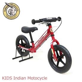 自転車 インディアン ランニングバイク [ ID-B ] レッド 赤 Indian Motocycle 子供 おすすめ 練習 練習用 ペダルなし ペダルなし自転車 12インチ ランニング キック走行 バイク おもちゃ 乗物玩具 子供用 幼児 子供用自転車 子供自転車 玩具