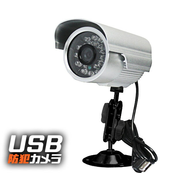 sdカード録画 防犯カメラ USB USB防犯カメラ 防犯 カメラ マイクロSDカード SDカード SD USB給電式 USB USB給電 録画 防滴 屋外 設置 防滴仕様 暗視録画可能 暗視 赤外線 自動点灯