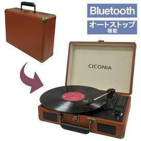 レコードプレーヤー Bluetooth レコード 収納 フレーム レコードバッグ クラシック ブラウン 音楽 再生 録音 FMラジオ レトロ USB スピーカー 多機能 トランク オーディオ レコーダー プレーヤー ステレオ ターンテーブル 持ち運び 録音 プレーヤー レコード盤