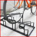 【送料無料】 家庭用 自転車スタンド ( 4台用 ) 自転車置き場 駐輪所 チャリ置き 自転車 スタンド ストッパー 3台