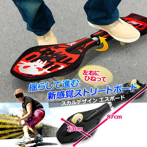 ボードタイヤスポーツスカルデザインミニ新感覚スケートボードスケボードクロエスボードストリートボードフィットネスダイエットESSSボードキャスターボードリップスティックジェイボードより安い★★