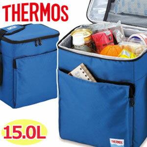 送料無料 サーモス 保冷バッグ 15リットル [ REF-015 ] ソフトクーラー ブルー ランチバッグ 保冷 バッグ クーラーボックス クーラーバッグ ソフトクーラーバッグ 冷却バッグ コンパクト お弁当 弁当箱 THERMOS 15L
