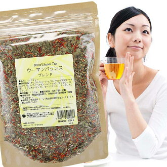 Women balance blend 100 g chest tree tea: Lady's mantle: Pennyroyal tea: ヤロウフラワー City: safflower: Jasmine Flower: blended herbal tea: dried herbs: tea: herbal tea: menstrual irregularities PMS