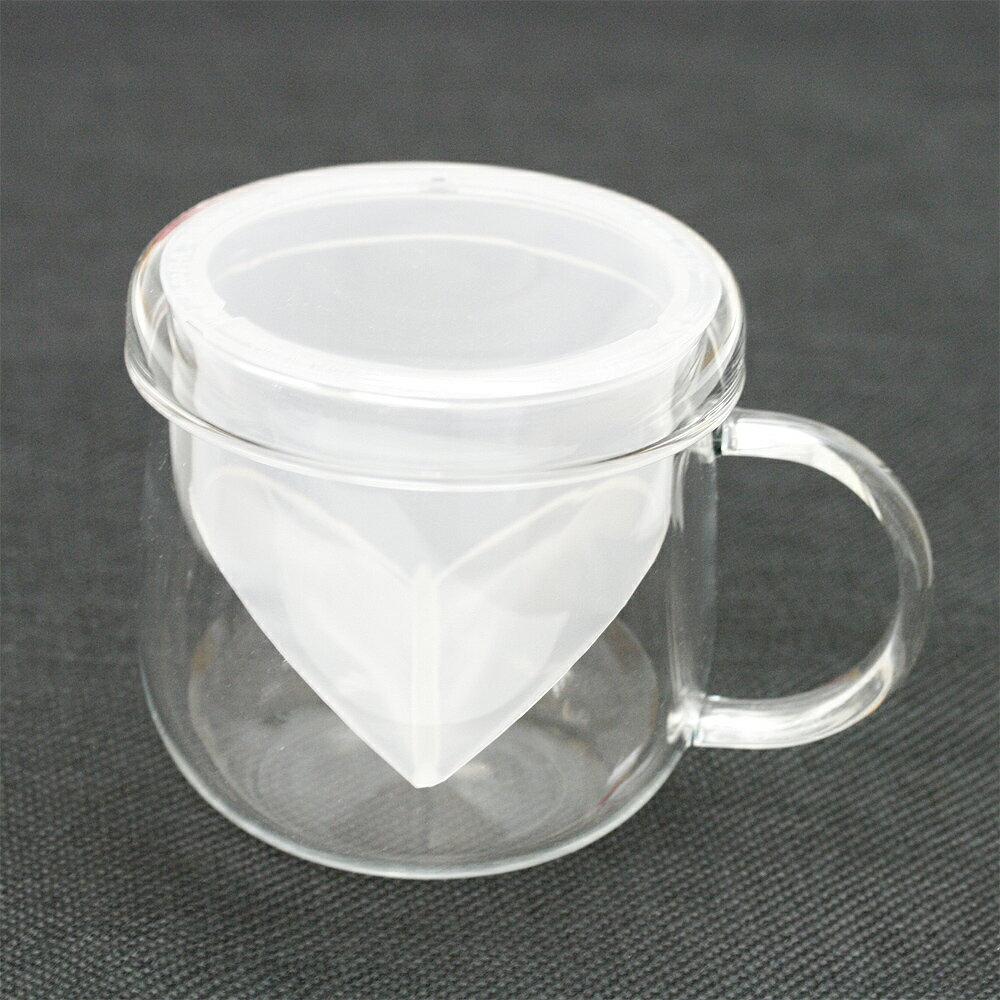 ハーブティー ティーカップ GO型耐熱ガラス ティーカップ クリアー