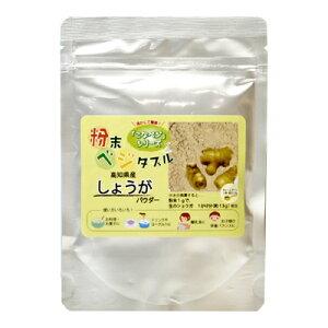 しょうがパウダー 高知県産 しょうが粉末 国産 70g 乾燥生姜粉末 ショウガパウダー 生姜茶 しょうが茶 スパイス 調味料 香辛料 お茶 ゆうメール送料無料