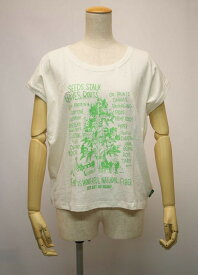 新作!GO HEMPレディース Tシャツ HEMP TREE SUNNY ROUND TEE