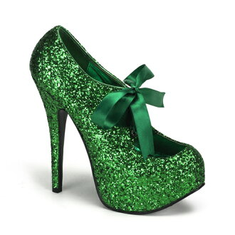 [#SH-TEEP-10G] 5.75 inch heels and pinherladies platform pumps and imports shoes [large size and] /grn/14-16/pumps