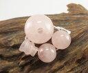 【10%割引クーポン配布中】 数珠(念珠)道具セット 桃色水晶 《ローズクォーツ》 16ミリ