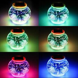 花火 電球 ガラス製ソーラーイルミネーション ガーデンソーラーライト、ソーラーガーデンライト、ランタン ソーラーライト、フェアリージャー ソーラーライト、ソーラーパーティーライト、癒し おしゃれ お中元プレゼント