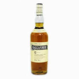 [スコッチ/シングルモルトウイスキー]クラガンモア 12年 700ml 40度【正規品】