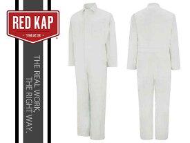REDKAP(レッドキャップ)TWILL ACTION BACK COVERALL【WHITE】カバーオール ホワイト