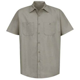 REDKAP(レッドキャップ)SHORT SLEEVE INDUSTRIAL SOLID WORK SHIRTショートスリーブ ワークシャツ
