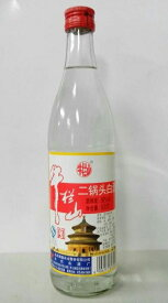牛欄山 二鍋頭白酒(アルコードシュ)瓶 500ml(1本)56度!