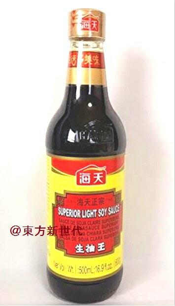 横浜中華街 海天生抽王 海天醤油 500ml  中国醤油<うすくち> 薄口 500g 中国で一番売れている人気の醤油 … ♪