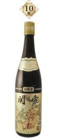 関帝 陳年10年紹興花彫酒(金ラベル)17度、600MLX6本(セット売り)、10年熟成ならではの華やか香りと優雅な味わいが堪能できます♪