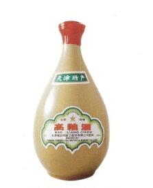 中国白酒 天津 高粮酒(高糧酒)62度 【壷】 500ML、62度と言う高い度数の高粮酒♪