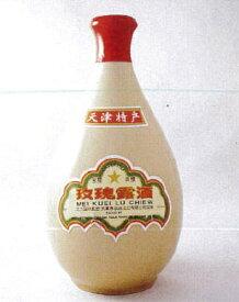 中国白酒 天津玖瑰露酒(メイクイル−シュ) 54度 500ml、焼き豚の味付けとしてお馴染みの味♪
