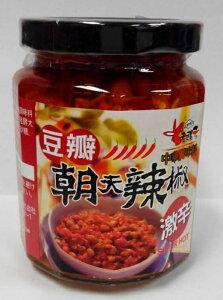 横浜中華街 老騾子牌 朝天辣椒 豆瓣 240g、大豆入り辛味調味料 ♪