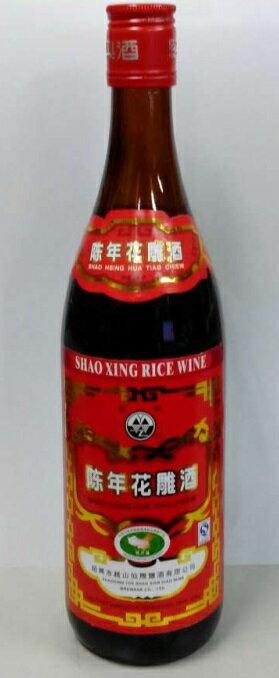 越州 陳年花雕紹興酒 640ml(赤ラベル)12本1箱、4980円・送料無料!