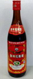 越州 陳年花雕紹興酒 640ml(赤ラベル)12本1箱、5100円・送料無料!