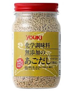 ユウキ 化学調味料無添加のあごだし(顆粒) 110g  あご(とびうお)の香りをいかし、優しい風味に仕上がっています。!