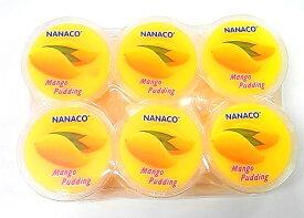 NANACO タイ産 ナタデココ入りマンゴープリン 椰果入芒果布丁 480g(80gX6個)Mango Pudding ☆♪デザート・タイ名物・お土産♪
