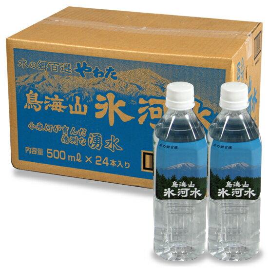 鳥海山氷河水500ミリリットル1箱(24本入)
