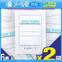 「メール便送料無料」「貼付型冷却材」テイコクファルマケア クールホワイト(COOL WHITE) 14x10cm 6枚入り x2袋(合計1…