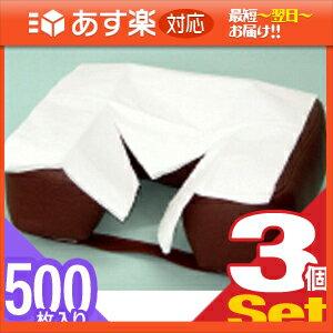 「あす楽対応商品」「清潔な肌触りで耐水性紙」フェイスペーパーY字カット 500枚入りX3個セット(SB-216A)【HLS_DU】