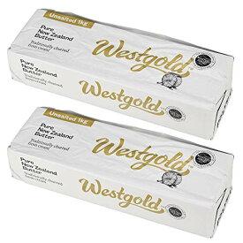 グラスフェッドバター 2kg(1kg×2個)ニュージーランド産 無塩 無添加 バター 冷凍 Westgold
